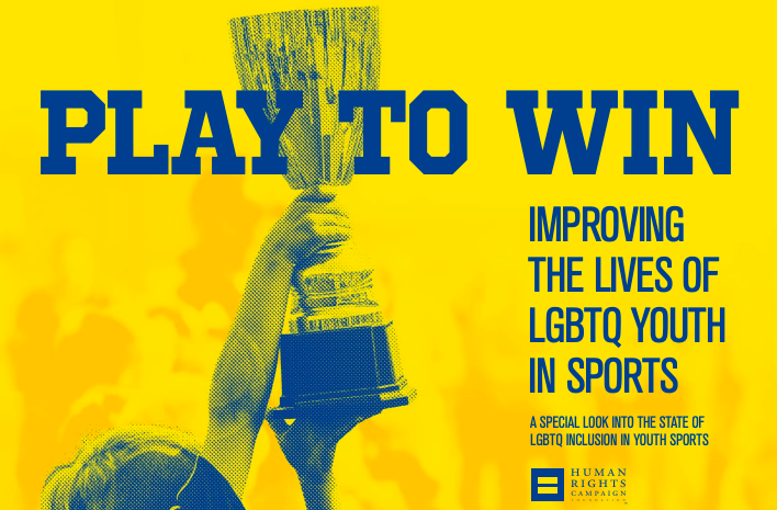 Screen shot of Human Rights Campaign: Play to Win resource