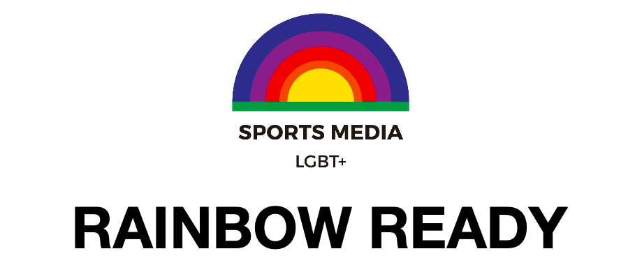 Sports Media LGBTQ+ Logo