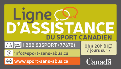 Ligne dassistance du Sport Canadien logo